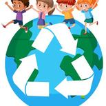 Top_children-around-the-world-recycling-concept-vector